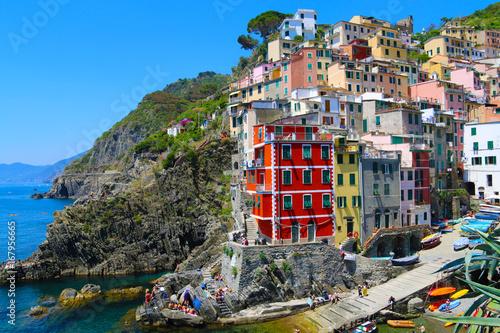 Fotobehang Liguria CINQUE TERRE