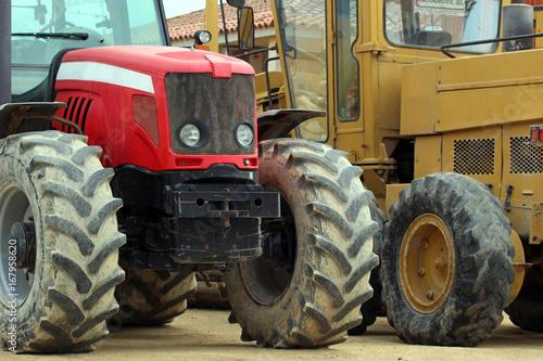 Wanddekorationen Traktor Wandbilder Fototapeten Wandtattoos