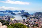 Бразилия. Рио-де-Жанейро.Общий вид города. - 168018881