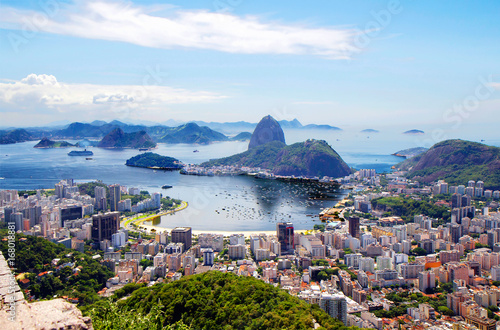 Papiers peints Rio de Janeiro Бразилия. Рио-де-Жанейро.Общий вид города.