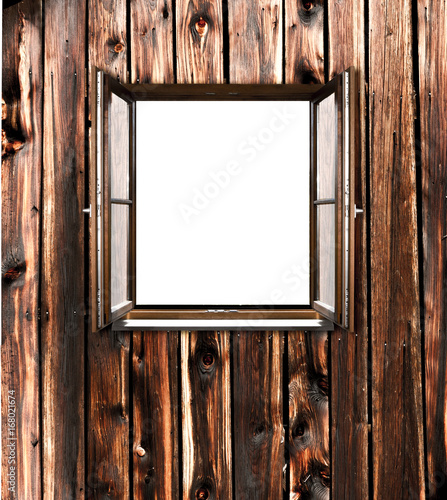 holzfenster - 168021674