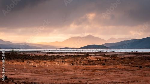 Foto Murales lever de soleil