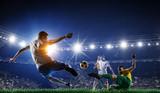 Soccer best moments. Mixed media . Mixed media - 168031816