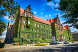 WROCLAW, POLAND - AUGUST 14, 2017: Wroclaw Old Town. The National Museum in Wroclaw occupies the building designed by an architect Karl Friedrich Endell and erected in 1883 - 1886. - 168033601