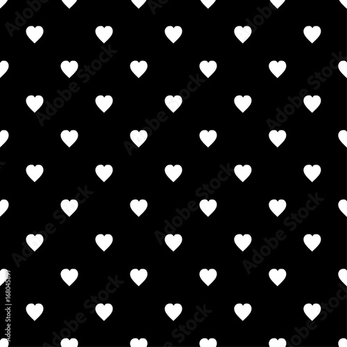 Hearts pattern Vector illustration seamless - 168045897
