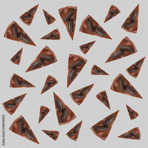 Sticker Pattern of chocolate pies