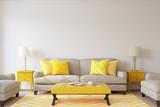 Living-room interior. 3d render. - 168065636