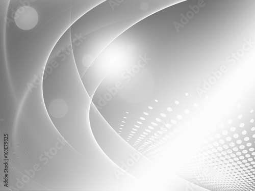 Staande foto Abstract wave Abstract soft gray background