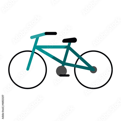 bike or bicycle icon image vector illustration design