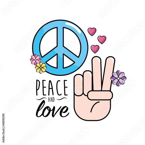 Peace And Love Symbol And Global Spirit Buy Photos Ap Images
