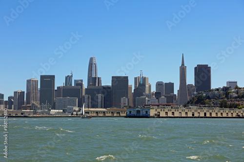 Fotobehang San Francisco Skyline of San Francisco. California. USA
