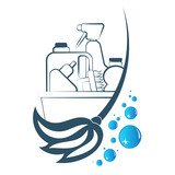 Cleaning and washing symbol - 168170471