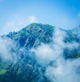 Trikuta mountains from Katra