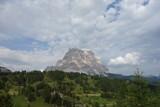 Clouds shadows on Pelmo peak