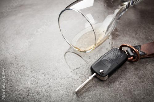 Plakat Drunk driving concept