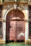 Venice Door with Canal
