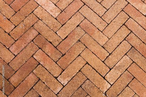 Herringbone pavers - 168231607