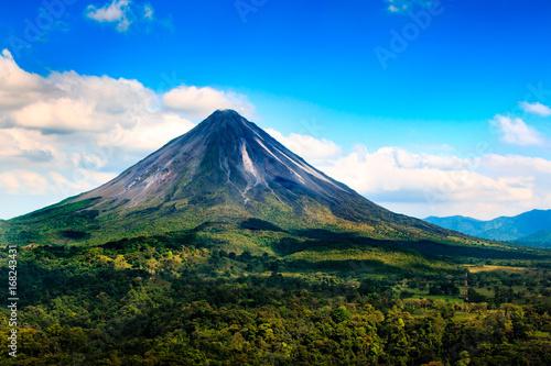 Foto Murales Arenal volcano in Costa Rica