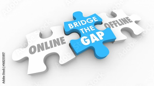 Bridge Gap Between Offline Online Data Service 3d Animation
