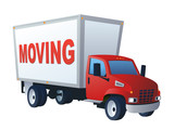 Moving Word Truck - 168259236