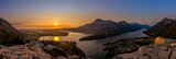 Fototapety Waterton Lakes National Park Sunrise