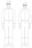 衛生 保護服 - 168264483