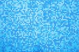 1314256 Swimming pool blue mosaic background. - 168264830