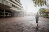Lost among city streets. Mixed media . Mixed media