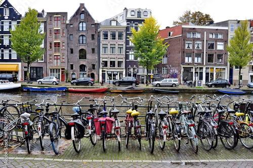Foto op Plexiglas Amsterdam Canals of Amsterdam, Netherlands