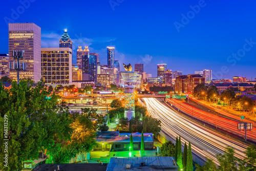 Foto op Canvas Texas Atlanta Georgia Skyline