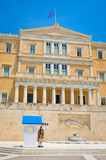 Parliament building in Athens, Greece - 168327460