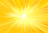 Sun light rays vector image - 168375616
