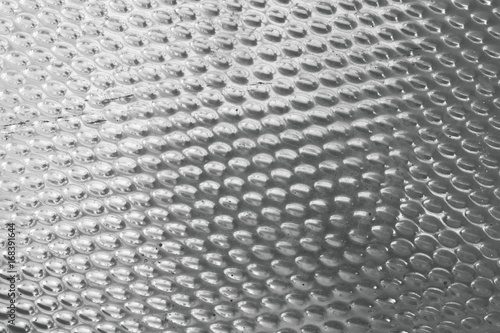 Staande foto Kunstmatig Texture Background of Matalic Silver Plate with Convex