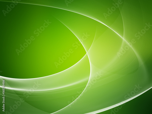 Foto op Plexiglas Abstract wave Abstract green background