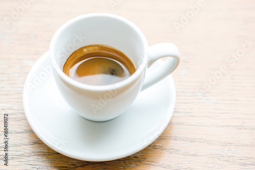 Sticker Coffee cup, A cup of hot espresso