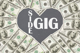 Love making money with your side gig - 168427409