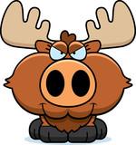 Cartoon Sly Moose