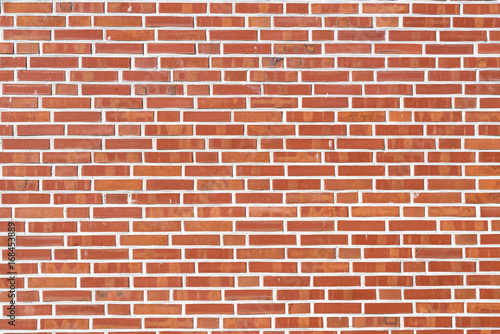 Spoed canvasdoek 2cm dik Baksteen muur Red brick wall background or texture