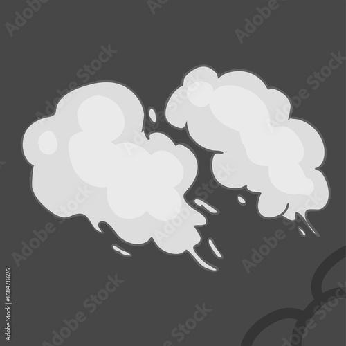 illustration smoke Poster