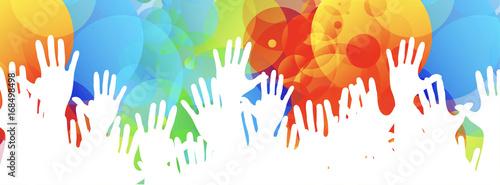 ręce, kolory społeczności
