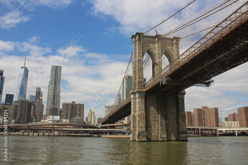 Foto op Aluminium Brooklyn Bridge new york