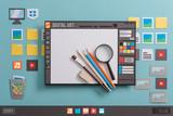Graphic design softw...