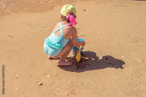 vacances à la plage Poster