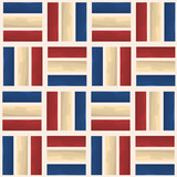 usa water color style fashion stripe texture cubes geometric pattern design vector
