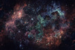 Image of the nebula in deep space. Elements of this image furnished by NASA. - 168626239