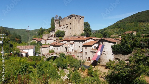 Verrucola village in Lunigiana, north Tuscany, Italy.