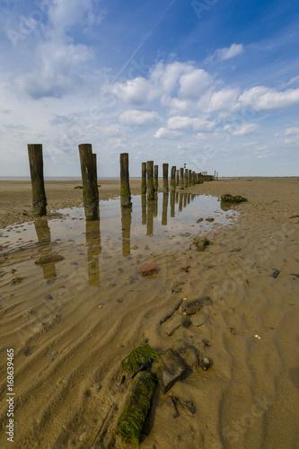 Aluminium Noordzee Wattenmeer