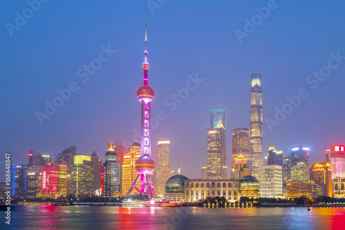 Papiers peints Shanghai Architectural scenery and skyline of Shanghai