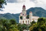 Church in El Cobre village, Cuba - 168663413