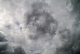 Dramatic clouds on the sky